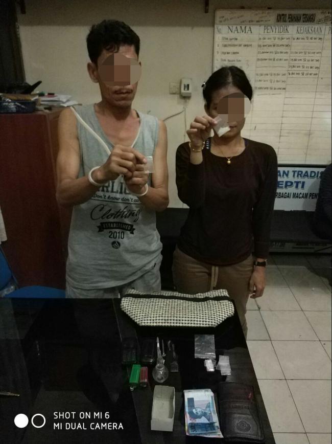 Lagi 2 Warga Bangkinang Diciduk Satres Narkoba Polres Kampar