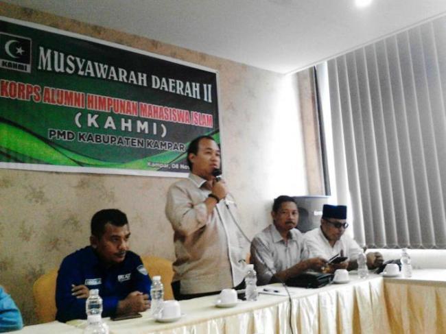 Abu Nazar Kembali Pimpin KAHMI Kampar Periode 2017-2022