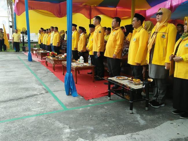 Ketua DPD Golkar Kampar dan Ketua AMPG Kampar Beserta Pengurus Resmi Dilantik