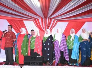 Batik Kampar Kado Sempena HUT RI ke 73 tahun 2018