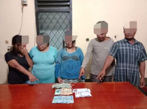 3 Wanita dan 2 Pria Ditangkap Polisi Saat Main Judi
