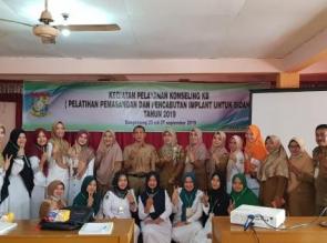 DPPKBP3A Kampar  Taja Pelatihan Pemasangan dan Pencabutan Implant