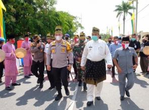 Polda Riau Gelar Bakti Sosial Serentak Jelang Hari Bhayangkara Ke-74 yang Dipusatkan di Siak