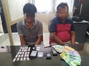 2 Pengedar Shabu Ditangkap Polisi di Pondok dalam Areal Kebun Sawit