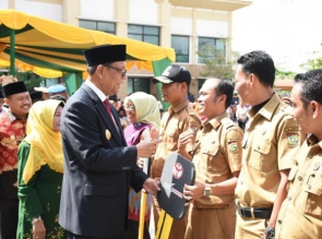 11 Desa Terima Ambulance lengkap Dari Pemerintah Kabupaten Kampar