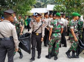 Apel Gabungan Hari Peduli Sampah Nasional 2019 di Kampar Digelar dilokasi TPAS