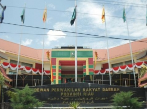 Dewan DPRD Riau Dilarang Keluar Dinas 10 Hari Kedepan