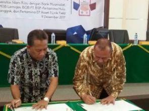 UIR Lakukan Penandatanganan Nota Kesepahaman Dengan PT SPR