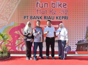 IMA Chapter Pekanbaru dan FKIJK – Riau Ramaikan Fun Bike 2018 Bank Riau Kepri