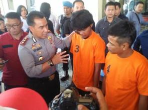 Polresta Pekanbaru Ciduk 3 Orang Tersangka Tindak Pidana Narkoba