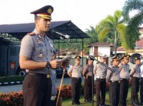 Kapolres Pimpin Upacara Peringatan Hari Kebangkitan Nasional ke-110