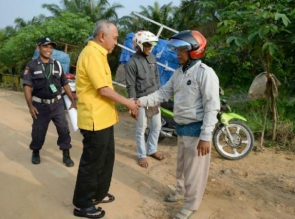 Insyallah, Jika Terpilih Kembali Akan Lanjutkan Pembangunan Infrastruktur Riau