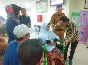 Ahmad Fikri, S. Ag Lakukan Kunjungan ke RSUD Bangkinang, Terkait Pelayanan Terkini