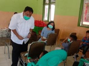Berbagi Ditengah Pandemi, Kajari Kampar Kembali Satuni Pati Asuhan