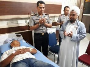 Peduli Terhadap Anggota, Kapolresta Pekanbaru Besuk Aiptu Poniran di RS Bhayangkara