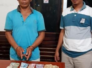 Polsek Tapung Grebek Pelaku Judi di Desa Pantai Cermin, Seorang Pejudi Berhasil Ditangkap