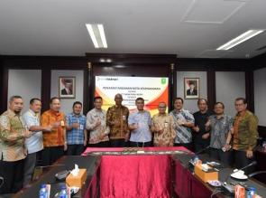 Disdik Riau Percayakan Pada Bank Riau Kepri Terkait Dana Bosnas, Bosda dan Sertifikasi Guru Riau