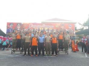 Polresta Pekanbaru Laksanakan Family Gathering Bersama TNI dan Pers