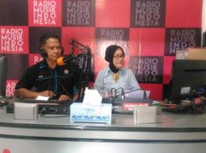 Jelang Idul Fitri, Kasubbag Humas Polres Kampar Sampaikan Pesan Kamtibmas Melalui Radio