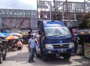 Gunakan mobil pengeras Suara Diskominfo Sosialisasi Bahaya Corona ke Desa-desa