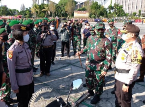 Pangdam I/BB ucapkan Terimakasih ke Kapolda Riau atas Inovasi Penanganan Karhutla