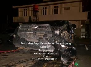 3 Nyawa Melayang Akibat Kecelakaan Lalulintas Maut di Rimbo Panjang