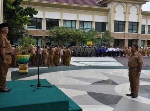 Kampar Tercepat Serahkan LKPj TA 2017 ke Provinsi.