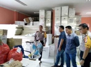 Pastikan Distribusi Logistik Aman, Polres Bengkalis Kerahkan Ratusan Personel