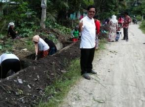 Desa Pantai Cermin Laksanakan Program Padat Karya Tunai