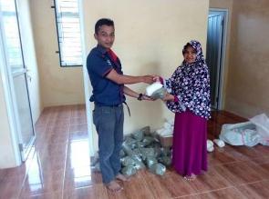 5 Kabupaten di Riau Terima Ribuan Paket Gizi dari PT RAPP