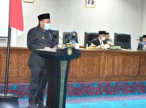 Rapat Paripurna DPRD Kampar masa sidang I tahun tahun 2019, Bupati Kampar Sampaikan LKPJ Tahun 2019