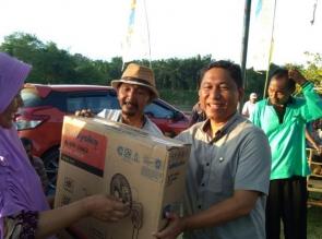 Hadiri Acara Sepeda Santai, Amrizal Berikan Hadiah Sepeda Kepada Pemenang
