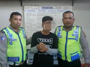 Saat Atur Lalulintas, Polisi Temukan Seorang Remaja Terduga Pelaku Narkoba