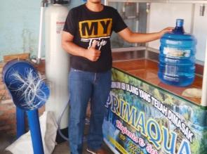 Air minum isi ulang yang telah dimasak PRIMAQUA hadir di Bangkinang Sekitarnya