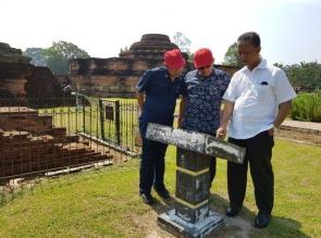 Wow.. Keren, Rektor UIR Bawa Mahasiswanya Berkunjung Situs Sejarah Candi Muara Takus