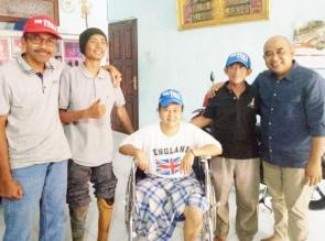 Forkom TeHa Bekerjasama dengan Kick Andy Foundation, Buatkan Kaki Palsu Warga
