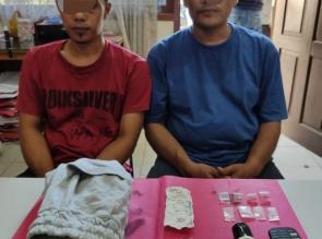 2 Orang Bandar Shabu Di Bekuk Resnarkoba Polres Kampar