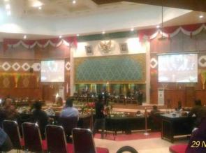 DPRD Riau Sahkan Empat Perda Sekaligus