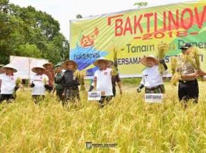 Pemkab Kampar Terus Tingkatkan Perekonomian Melalui Pertanian