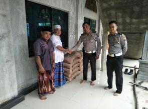 Satlantas Polres Kampar Sosialisasikan Pencanangan Desa Berani Tertib Berlalulintas