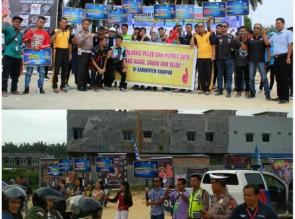 Anniversary Paguyuban Motor Tapung, Gelar Kampanye Pemilu Damai dan Keselamatan Lalulintas