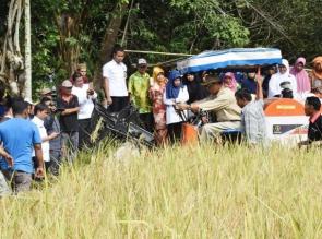 Bupati Kampar, Inovasi Teknologi Tingkatkan Hasil Pertanian
