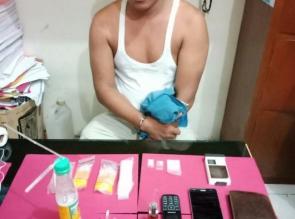 Coba Kabur, Pengedar Narkoba di Kampar ini Gigit Tangan Petugas