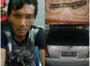 Pelaku Perampokan dan Pembunuhan di Desa Karya Indah Akhirnya Diamankan Polisi