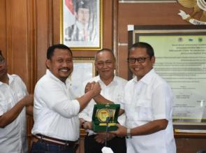 Bupati Kampar tandatangani kerjasama dengan BKSDA Riau di KLHK RI