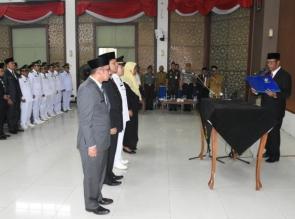 Bupati Kampar lantik dan Ambil Sumpah 133 Pejabat dilingkungan Pemkab Kampar