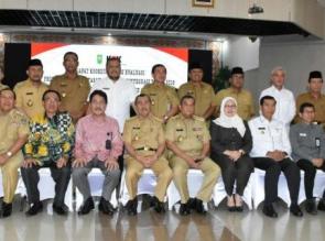 Bupati Kampar Hadiri Rakor Bersama KPK Terkait Pencegahan Korupsi Terintergrasi.