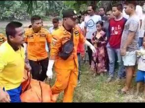 Korban Tenggelam Di Sungai Kampar Akhirnya ditemukan