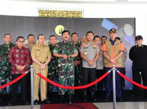 Aplikasi Dashboard Lancang Kuning Nusantara Diresmikan Panglima TNI dan Kapolri
