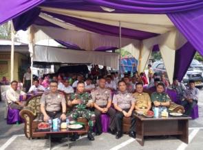 Kapolres Kampar Hadiri Acara Pisah Sambut Kapolsek Bangkinang Barat